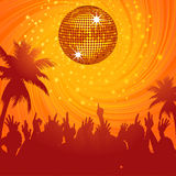 Summer disco party Stock Image