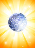 Summer Disco Theme Stock Images