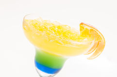 Summer Dream cocktail  side view close up Royalty Free Stock Photography