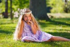 Summer dream girl Royalty Free Stock Photo
