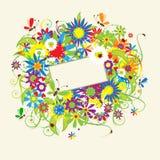 Summer dreams, greeting card Stock Photo