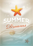 Summer Dreams royalty free illustration