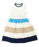 Summer dress for girl. Royalty Free Stock Image