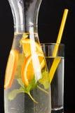 Summer drink. With fresh orange Royalty Free Stock Photos