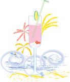 Summer drink Royalty Free Stock Photography