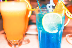 Summer drink coctail Stock Photos