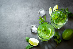 Summer drink mojito Stock Photography