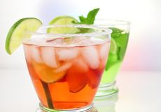 Summer drinks Stock Photography