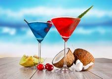 Summer drinks Stock Image