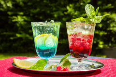 Summer drinks Stock Photos