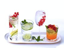 Summer drinks Royalty Free Stock Photo