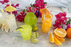 Summer Drinks royalty free stock photos