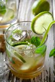 Summer drinks Stock Photos