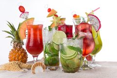 Summer drinks Royalty Free Stock Image