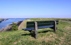 Summer in the Dutch province of Zeeland in Holland Royalty Free Stock Photography