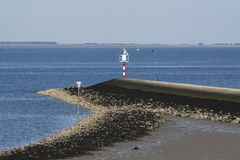 Summer in the Dutch province of Zeeland in Holland Royalty Free Stock Images