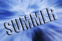 Summer dynamic background Royalty Free Stock Images