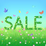 Summer, end of season sale or clearance concept Royalty Free Stock Images