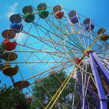 Summer. Enjoy the ferris wheels Stock Images