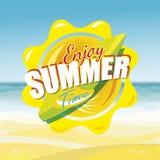 Summer enjoy Royalty Free Stock Image