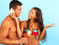 Summer enjoyment Stock Images