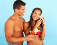 Summer enjoyment Stock Photos