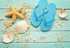 Summer equipment Royalty Free Stock Images