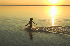 Summer evening Royalty Free Stock Photography