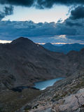 Summer Evening High in the Rockies Stock Photography