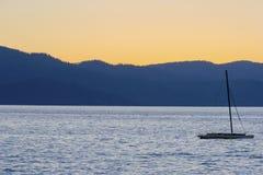 Summer Evening at Lake Tahoe Royalty Free Stock Photos