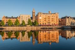 Summer evening in Sweden Stock Photos