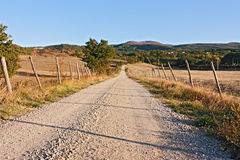 Summer evening in Tuscany Royalty Free Stock Photography