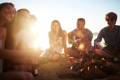 Summer evenings Royalty Free Stock Photography