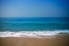 Summer exotic sandy beach Kerala Stock Image