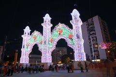 Summer fair of Algeciras, Spain Stock Photo