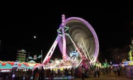 Summer fair of Algeciras, Spain Stock Image