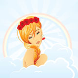 Summer fairy Stock Images