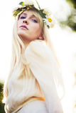 Summer fairy Royalty Free Stock Photos