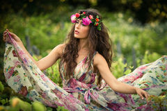 Summer fairy royalty free stock images