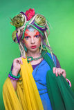 Summer fairy. Royalty Free Stock Photo