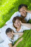 Summer family Stock Photo