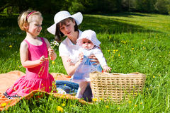 Summer family Royalty Free Stock Images