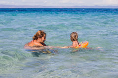Summer Family Lifestyle Royalty Free Stock Images