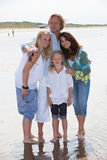 Summer family portrait Royalty Free Stock Photo