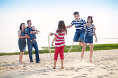 Summer family vacation Royalty Free Stock Photo