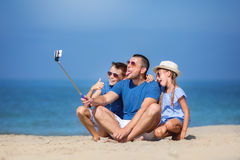 Summer, family, vacation concept Royalty Free Stock Image