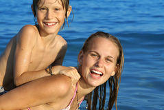 Summer family vacations Royalty Free Stock Photography