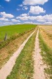Summer farm land Stock Photography