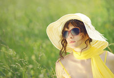 Summer fashion Royalty Free Stock Photo