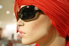 Summer fashion. Mannequin doll in department store - summer fashion Stock Photography